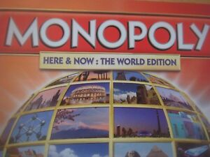 Monopoly Here & Now World Edition Spare Replacement Playing Pieces / Tokens