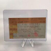 Ozzy Osbourne McNichols Arena CO Concert Ticket Stub Vtg NYE December 31 1995