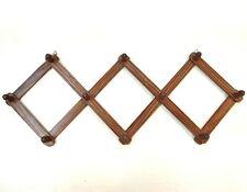 Wooden Wall hanger Wall Hooks Coat key Towel Holder Rose Sheesham Wood