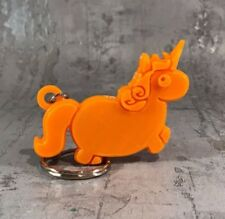 Unicorn Keyring / Keychain - 3D Printed - Party Bags Stocking Fillers Christmas