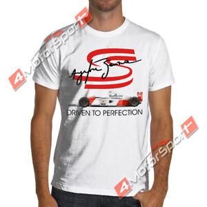 Ayrton Senna F1 T Shirt Formula 1 McLaren