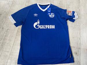 Official FC Schalke 04 Home Shirt 2018 - 2019 Umbro Retro BNWT XXL