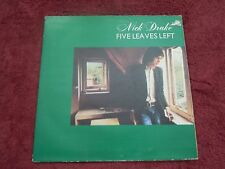 "Nick Drake Five Leaves Left Authentic 1969 1st Press Island UK ""River Man"" EX+!"