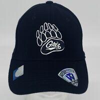 Montana Grizzlies NCAA Top of the World One-Fit Flex Cap Hat Black