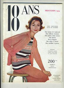 (81) 4 Revues 18 ans années 1958-1959