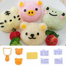 New Rice Ball Mold Bento Sushi Mold Kitchen DIY Cute Animal Shaped