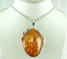 FASHION JEWELRY Precious Modernist  AMBER,GEMSTONE necklace new style  c1