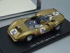 1/43 Spark LOLA T70 #34 LAGUNA SECA 1968 G.FOLLMER