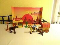 Mickey Mouse Western Spielset Play Set Disneyland Paris RAR