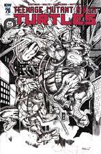 TMNT Teenage Mutant Ninja Turtles #76 Ltd to only 100 Issues B/W Sketch Cover