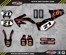 Honda CRF 450X 2005 / 2016 BARBED STYLE stickers / decals Full Custom Graphics