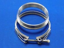 "HE351 Exhaust Flange to 4"" & HE351 turbo V-Band Clamp Kit"