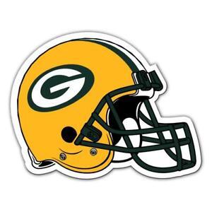 Green Bay Packers 12 Inch Helmet Vinyl Car Magnet [NEW] NFL Auto Emblem Decal