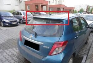 TOYOTA YARIS 3 MK3 FROM 2011 REAR ROOF SPOILER NEW