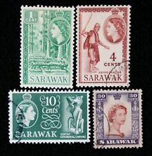 Sarawak 1955 - QE2 - Fine - Used not hinged