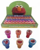 NEW Sesame Street Elmo Self Ink Stamps Birthday Party Favors Bag Filler Supplies