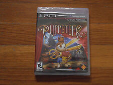 Puppeteer (Sony Playstation 3, 2013) ********** Factory Sealed **********