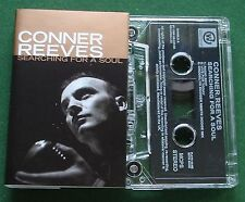 Conner Reeves Searching for A Soul Cassette Tape Single - TESTED