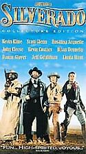 NEW VHS! SILVERADO Kline Cleese Glover Glenn Costner Goldblum Hunt Dennehy