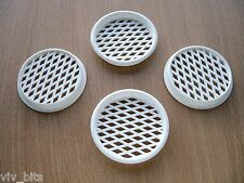 4 x VIVARIUM reptile caravan 55mm (50mm hole) FINE MESH insect fly air VENTS