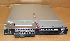 HP Brocade 4Gb SAN 16-Port Switch Blade AE372A  HSTNS-1B10  4 X GBICS Loaded