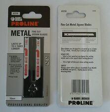Black & Decker Proline A5258 Fine Cut Jigsaw Blades (Pkt 2 Blades)