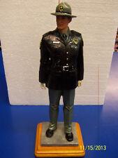 Highway Defense Vanmark Patrol Cop Police Officer Blue Hats Collectible Figurine