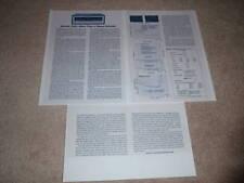 Marantz 2325 Receiver Review, 1975, 3 pgs, Full Test