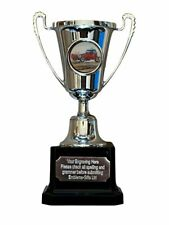 Motor Car Racing Silver Moment Cup Award Trophy (B) ENGRAVED FREE