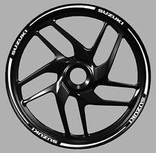 Adesivi cerchi moto Suzuki wheel strip sticker