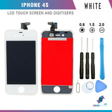 For iPhone 4S White Replacement LCD Touch Screen Digitizer Display Assembly
