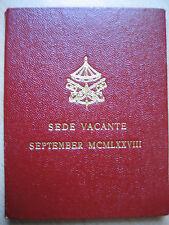 VATICAN  500 Lire 1978 im orginalem Folder, MCMLXXVIII