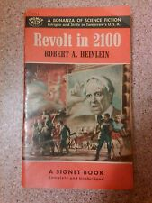 Old vintage 1955 book revolt in 2100, Robert A Heinlein bonanza science fiction