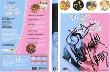 UN GARS UNE FILLE N°1 DEDICACÉE / JEAN DUJARDIN - ALEXANDRA LAMY DVD SERIE TV