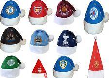 100% OFFICIAL FOOTBALL TEAM CLUBS CHRISTMAS X-MAS BEANIE HATS SANTA HAT GIFTS