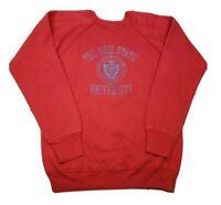 VINTAGE Ohio State University Champion 50/50 Sweatshirt 80s USA Texture Velvet