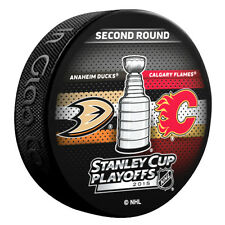 NHL 2015 Stanley Cup Playoffs Anaheim Ducks Calgary Flames 2nd Rnd Dueling Puck