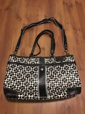 Coach Chelsea Heritage bias travel diaper duffle tote baby purse luggage 15134