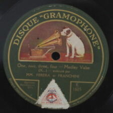MM. FERERA ET FRANCHINI/TRIO HAWAIEN HAWAIEN TWILIGHT SHELLAC 78rpm GRAMOPHONE
