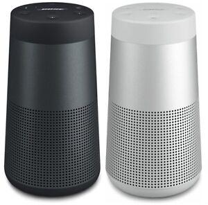 Bose SoundLink Revolve - Triple Black & Lux Grey (BOSE REFURBISHED)