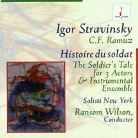 STRAVINSKY: THE SOLDIERS TALE - SOLISTI NEW YORK ORCH/WILSON [CD]