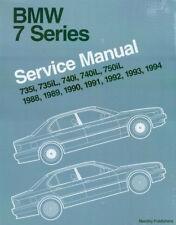 SHOP MANUAL BMW SERVICE REPAIR BENTLEY E32 BOOK 750iL 740i 735i 7-SERIES 735iL 7