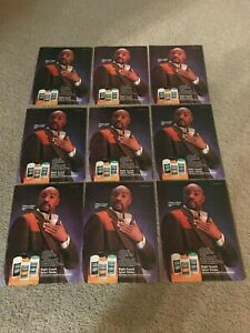 Vintage 1980s MARVELOUS MARVIN HAGLER RIGHT GUARD Poster Print Ad LOT OF (9)