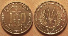 Afrique Occidentale Française - Togo, 10 Francs Essai 1957, SPL et Rare !!