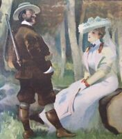 Original LE RIRE Cover Lithograph 1905 Illustrated By Gulliaume