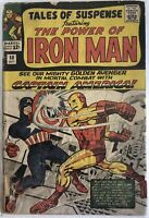TALES OF SUSPENSE #58 MARVEL COMICS 1964 CAPTAIN AMERICA VS IRON MAN