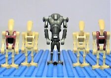NEW Lego Star Wars Super Battle Droid + Battle + Security Droids Minifigs Lot G
