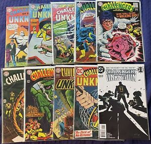 Challengers of the Unknown Comic Lot 60's-70's And More