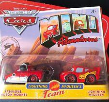 DISNEY CARS MODELLINI: MINI ADVENTURES FABULOUS HUDSON HORNET McQUEEN
