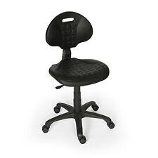Arbeitsstuhl/Industriestuhl/Laborstuhl ergonomisch,drehbar mit Rollen und Lehne